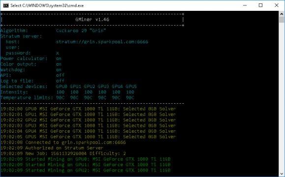 GMiner v1.81 (AMD/Nvidia GPUs miner) DOWNLOAD
