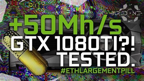 OhGodAnETHlargementPill – Nvidia GPU mining Ethereum +50 Mh/s on GTX 1080/1080TI