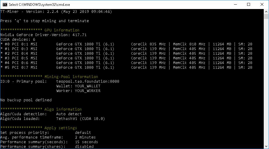 TT-MINER v3.0.5 (Nvidia GPU miner) [DOWNLOAD]