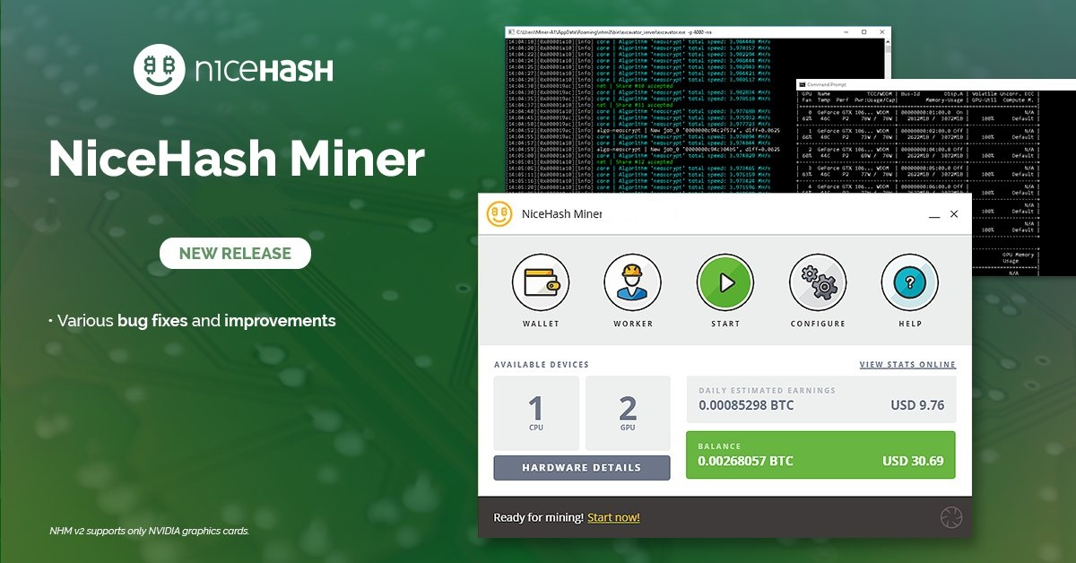 NiceHash Miner v3.0.0.5: Download and Configure for Windows