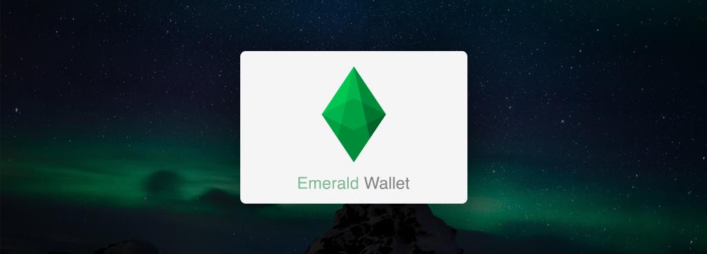 EMERALD WALLET: Ethereum/ETH/ETC/ERC-20 wallet for Windows