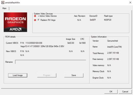 ATIFlash & AMD VBFlash v2.93 (Скачать для Windows & Linux)