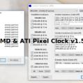 New Atikmdag Patcher v1.5.0 & Windows x32/x64 (AMD & ATI Pixel Clock)