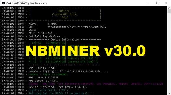 Скачать NBMINER v30.0 с OhGodAnETHlargementPill [AMD/NVIDIA]