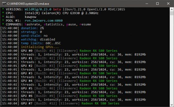 WildRig Multi v0.23.0: Download AMD GPU Miner With KAWPOW and ProgPoW