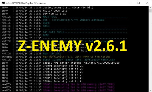 Z-ENEMY v2.6.1: Download With Improved KAWPOW Support (Windows & Linux)