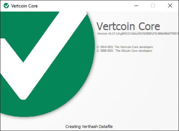 VertCoin Wallet, VerthashMiner, VTC One Click Miner (Downlaod for Windows & Linux)