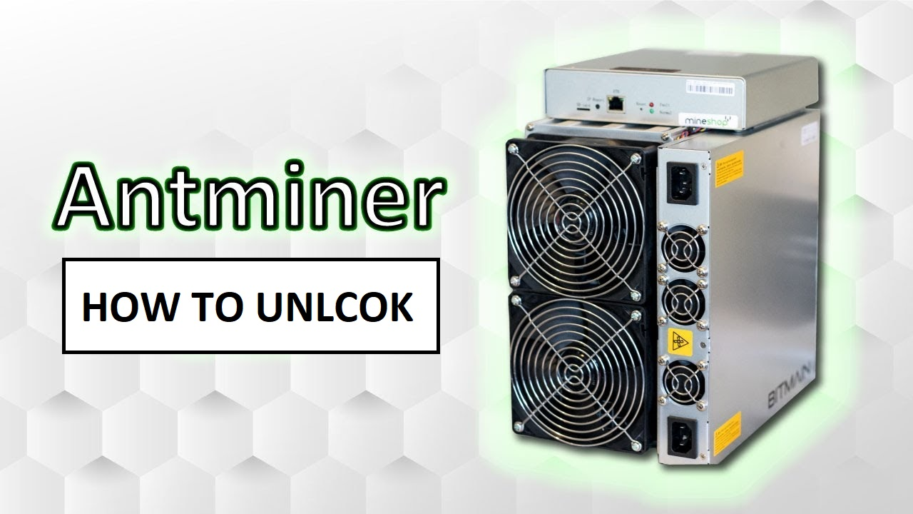 Awesome Miner: How to unlock ASIC (Antminer S9, T9+, S15, T15, S17, T17)?