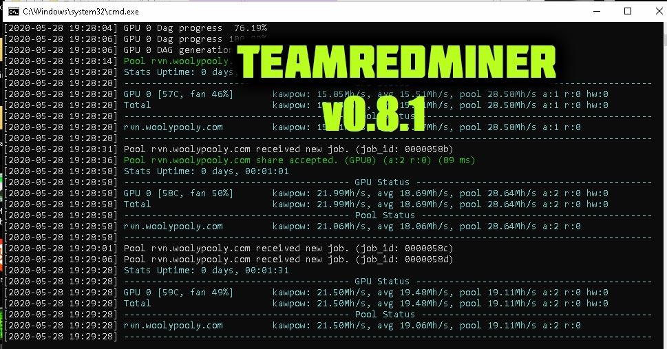 TeamRedMiner v0.8.1 (AMD GPU): Скачать и Настроить для Windows & Linux.