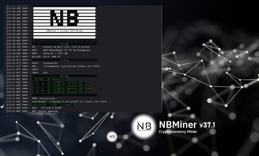 NBMiner v37.1 – NVIDIA & AMD GPU Cryptocurrency Miner (Пошаговое Руководство)
